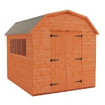 DUTCH BARN SHED 10FT X 8FT