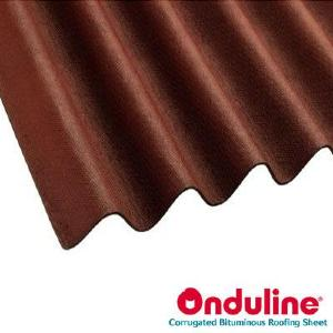 ONDULINE ROOFING RED 2000MM x 950MM (855mm Cover)