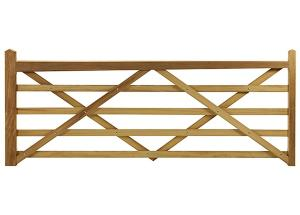 SOMERSET SOFTWOOD FIELD GATE 6FT