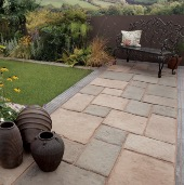 BAMBURGH MILL 10.9m² PATIO PACK