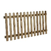 Planed Picket Fencing