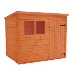 BUDGET PENT 6' X 4' SHED