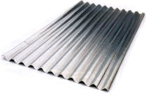 "2.7 MTR GALV ROOF SHEETS (26"" WIDE / 665MM)"