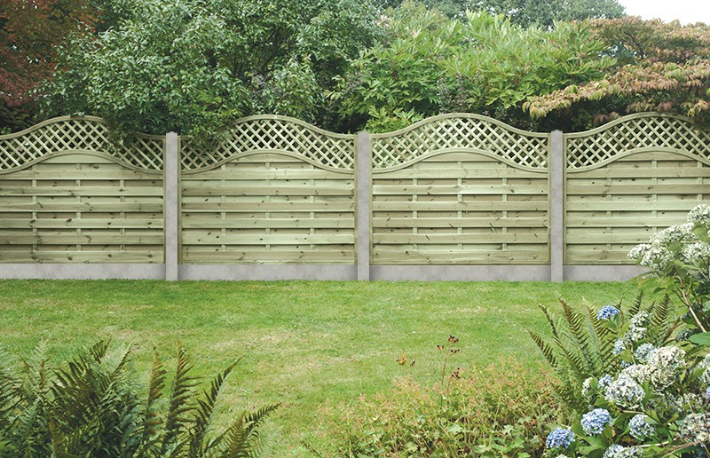 Sussex Wave 1 8mtr X 0 9mtr High