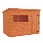 DELUXE PENT 6' X 4' SHED