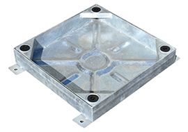 600 X 600 BLOCK PAVING MANHOLE COVER