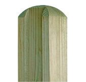 TIMBER SLOTTED POSTS 6FT REEDED