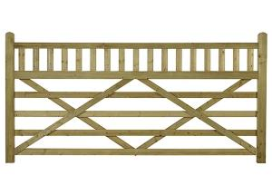 EQUESTRIAN FIELD GATE 9FT