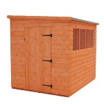 LEAN-TO PENT 6' X 3'