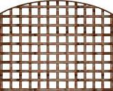 DOME SQUARE TRELLIS 6'X5'