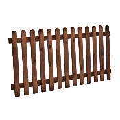 Sawn Picket Fencing
