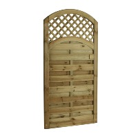 ARCHED LATTICE TOP GATE 0.9 X 1.8