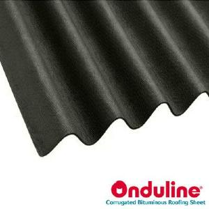 ONDULINE ROOFING BLACK 2000MM x 950MM (855mm Cover)