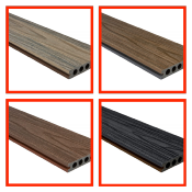 COMPOSITE DECKING DUAL 3.6MTR 22.5mm X 146mm