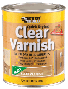 RUSTINS OUTDOOR CLEAR VARNISH 1 LITRE