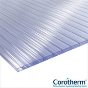 CLEAR TWINWALL POLYCARBONATE 10MM (4000MM X 1050MM)