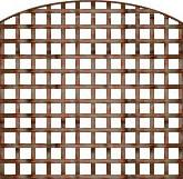 DOME SQUARE TRELLIS 6'X6'