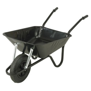BLACK WHEEL BARROW